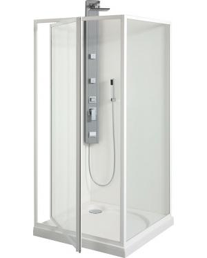 SDK 90 SKLO WATER OFF Sprchové dveře otočné