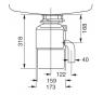TR 50.2 TEKA drtič odpadků - Technický nákres