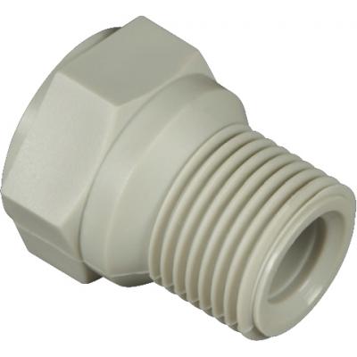 PPR Přechodka s plastovým závitem vnějším 25×3/4˝