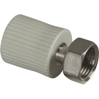 PPR Přechodka s kovovým závitem spřevlečnou maticí 16×1/2˝