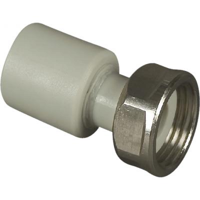 PPR Nátrubek-přechodka plastová spřevlečnou maticí 20×3/4˝