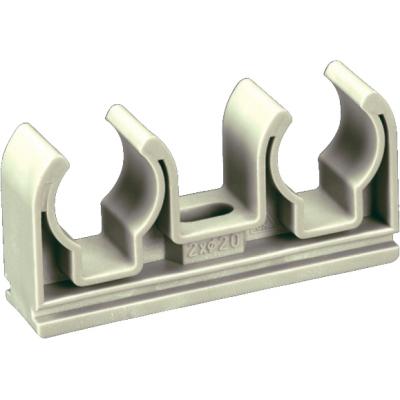 PPR Dvojpříchytka průměr 2×16