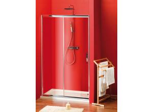 Sigma SG1243 Gelco Sprchové dveře dvoudílné posuvné 130x190 cm - sklo čiré