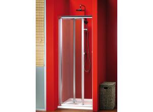 Sigma SG1829 Gelco Sprchové dveře dvoudílné zalamovací - sklo čiré