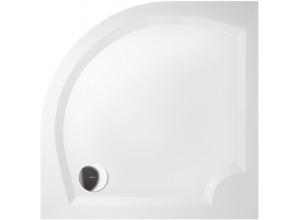 LAURA 90 GL509 Sprchová vanička čtvrtkruhová - hladká