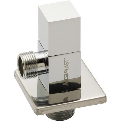 ARV002 AlcaPlast Rohový ventil 1/2˝×3/8˝ čtyřhran