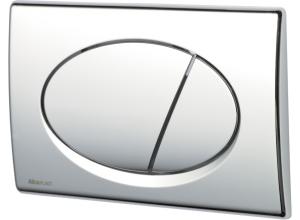 M71 AlcaPlast Tlačítko ovládací leštěný chrom