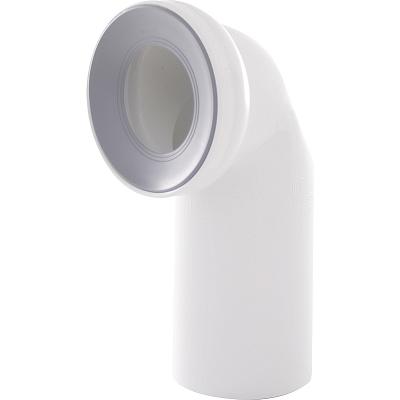 A90-90 AlcaPlast Připojovací nástavec k WC - koleno90°