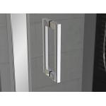 TED 1000 50 07 SanSwiss Jednokřídlé dveře s pevnou stěnou v rovině 100 cm