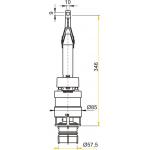A06 AlcaPlast Vypouštěcí ventil pro A100, A101, A102