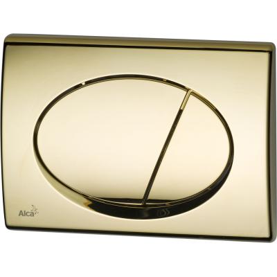 M75 AlcaPlast Tlačítko ovládací zlaté