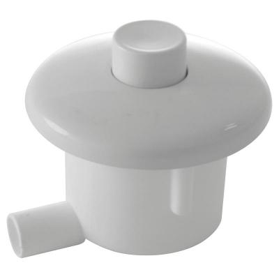 MPO10 Oddálené pneumatické splachování ruční do zdi bílé