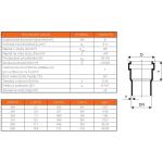KGEM-kanalizační trubka SN 4 - 200/5000