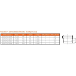KGAM-kanalizační samostatné hrdlo nalepovací 125