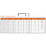 KGM-kanalizační zátka  hrdlová 110