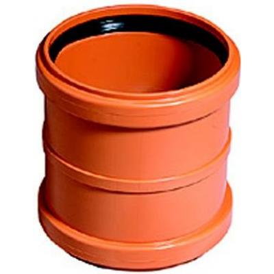 KGMM-kanalizační spojka dvouhrdlá 110