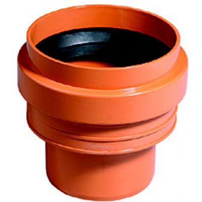KGUS-kanalizační přechodka 125 kamenina/PVC