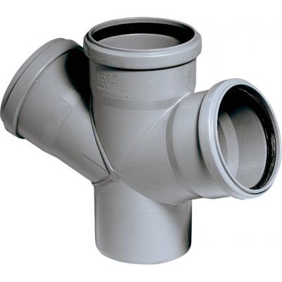 HTDA-kanalizační dvojodbočka50/50/50 - 45°