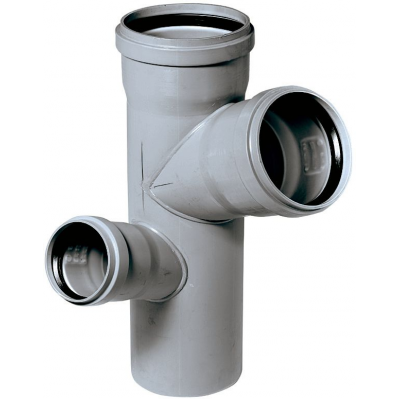 HTEP-kanalizační paneláková dvojodbočka rohová110/110/75 - 67° P