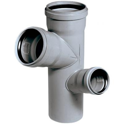 HTEP-kanalizační paneláková dvojodbočka rohová110/110/75 - 67° L