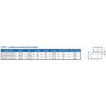 HTR-kanalizační redukce krátká 110/75