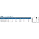 HTAM-kanalizační hrdlo 110