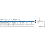 HTSW-kanalizační připojovací koleno 90° 40/40