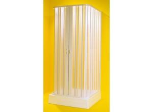 SATURNO 80–60 × 90-70 × 80–60 × 185 cm Olsen-Spa sprchová zástěna