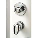 PAROS ECO 167 x 16 Teiko Masážní sprchový panel - bílá