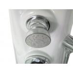 ANDROS 135 x 20 Teiko  Masážní sprchový panel - bílá
