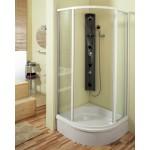HIOS 160 x 20 Teiko Masážní sprchový panel - bílá