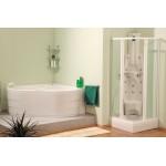 ATHOS 200 x 50 Teiko  Masážní sprchový panel - bílá