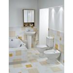 JIKA LYRA PLUS 8.2638.4.000.241.3 WC kombi zadní šikmý - hluboké splach., boční napouštění - Náhledové foto k produktu (1)
