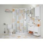JIKA LYRA PLUS 8.2638.4.000.241.3 WC kombi zadní šikmý - hluboké splach., boční napouštění - Náhledové foto k produktu (5)