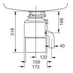 TR 50.2 TEKA drtič odpadků - Náhledové foto k produktu (4)