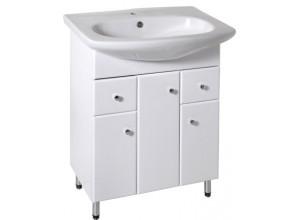 H-BEL-66-U+2S Olsen-Spa koupelnová skříňka s umyvadlem