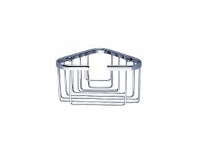 OP 108N-26 Nimco Koupelnová drátěná rohová polička