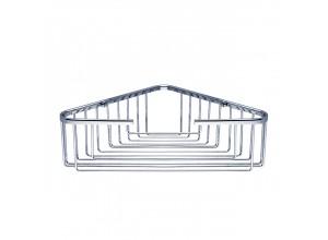 OP 105N-26 Nimco Koupelnová drátěná rohová polička