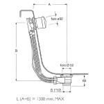 RAVAK Vanový odtokový komplet s přepadem - chrom