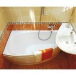 RAVAK AVOCADO 160 x 75 levá Vana asymetrická  - Náhledové foto k produktu (1)