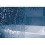 VS5 RAIN RAVAK Vanová zástěna pětidílná 114 cm bílá