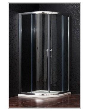 BRILIANT 90 clear NEW Arttec Sprchový kout čtvrtkruhový