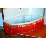 FLAMENGO 160 x 90 pravá Sanotti akrylátová vana