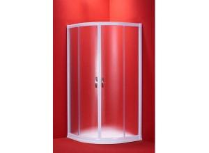 BARCELONA 90×90 bílý rám mat Olsen-Spa sprchový kout