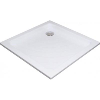 RAVAK ANGELA 80 LA Sprchová vanička čtvercová 80 cm - bílá