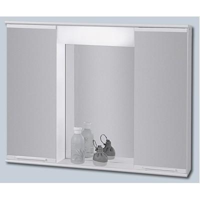 """LUMIX III 70 x 55 Olsen-Spa zrcadlová skříňka """"galerka"""" kovová"""