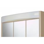 SAPHIR BB Zrcadlová skříňka - béžová š. 60 cm, v. 51 cm, hl.18 cm