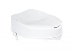 A0071001 WC sedátko zvýšené s víkem - bílé 36 × 40 × 10 cm
