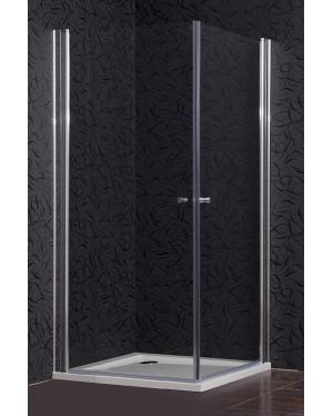 AIR 90 Clear NEW Arttec sprchový kout čtvercový s mramorovou vaničkou Zdarma