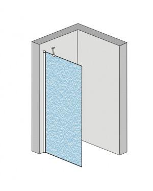 Alfa 80 Grape Well Pevná stěna ke sprchovým dveřím Alfa
